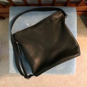 Authentic Coach crossbody leather bag
